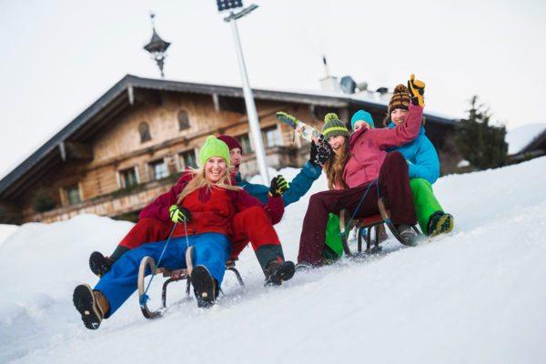 Rodeln im snow space Flachau - Winter- & Skiurlaub im Ski amadé