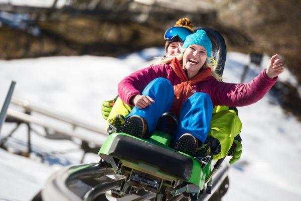 Alpine Coaster Lucky Flitzer im snow space Flachau - Winter- & Skiurlaub im Ski amadé