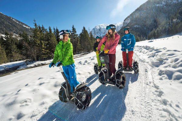 Winter-Segway fahren im snow space Flachau - Winter- & Skiurlaub im Ski amadé