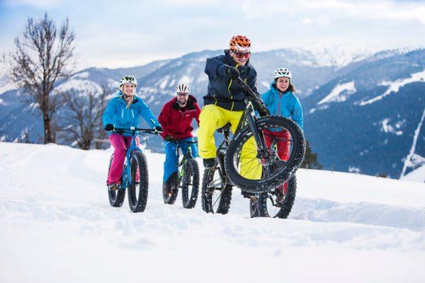 Snowbiken im snow space Flachau - Winter- & Skiurlaub im Ski amadé